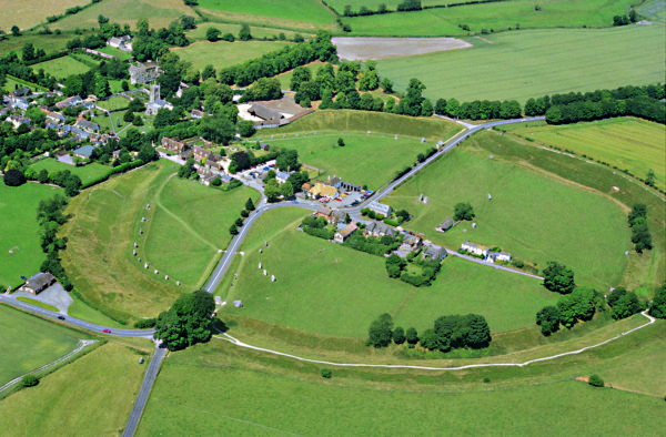 Avebury from the air