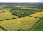 hannington crop circle may 2011