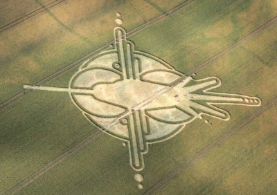 Hummingbird Crop Crop Circle