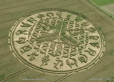 Ansty, Nr Salisbury, Wiltshire ~ Lucy Pringle Crop Circle Photography